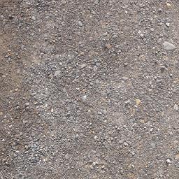 砂利道の写真を一部トリミング&サイズ縮小