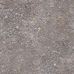 砂利道の写真(違和感を消しゴムで削除)