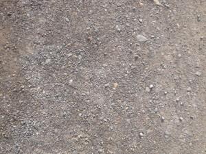砂利道の写真